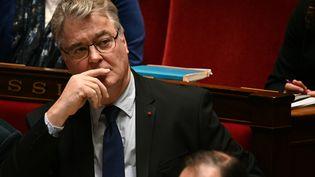 Le haut-commissaire aux retraites Jean-Paul Delevoye le 10 décembre 2019 à l'Assemblée nationale. (DOMINIQUE FAGET / AFP)
