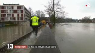 Inondations : le ras-le-bol des habitants (FRANCE 2)