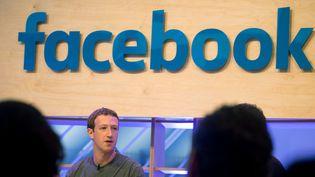 Mark Zuckerberg, patron de Facebook, à Berlin (Allemagne), le 12 janvier 2018. (KAY NIETFELD / DPA)