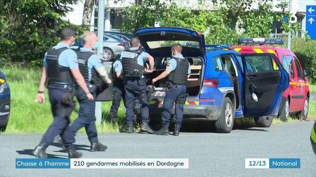 Chasse à l'homme : 210 gendarmes mobilisés en Dordogne