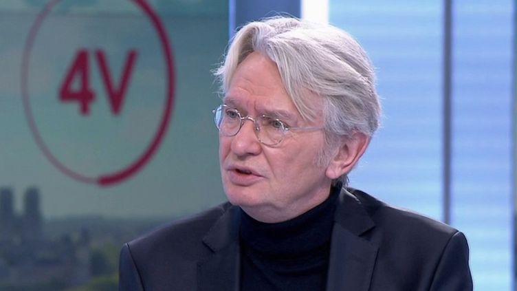 Politique : Jean-Claude Mailly se confie sur ses rapports avec les présidents de la République. (FRANCE 2)