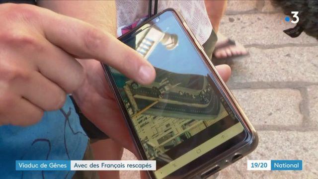 Viaduc de Gênes : avec les Français rescapés