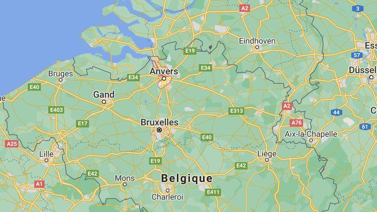 Le drame s'est déroulé à Anvers (Belgique), le 11 avril 2021. (CAPTURE D'ECRAN GOOGLE MAPS)