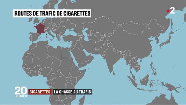 Cigarettes : la difficile chasse au trafic