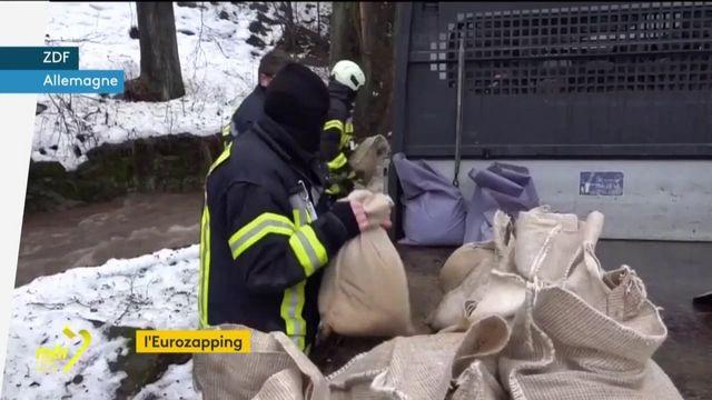 Eurozapping : l'Allemagne en proie à des inondations