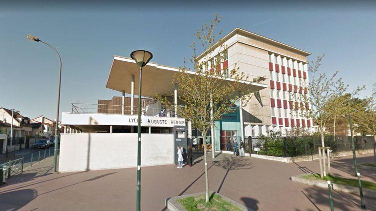 Les faits se sont déroulés au lycée Auguste-Renoir d'Asnières-sur-Seine (Hauts-de-Seine). (GOOGLE STREET VIEW)