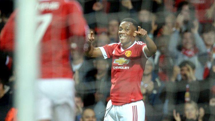La joie d'Anthony Martial sous le maillot de Manchester United