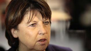 Martine Aubry, la maire de Lille, en octobre2012. (BAZIZ CHIBANE / SIPA)