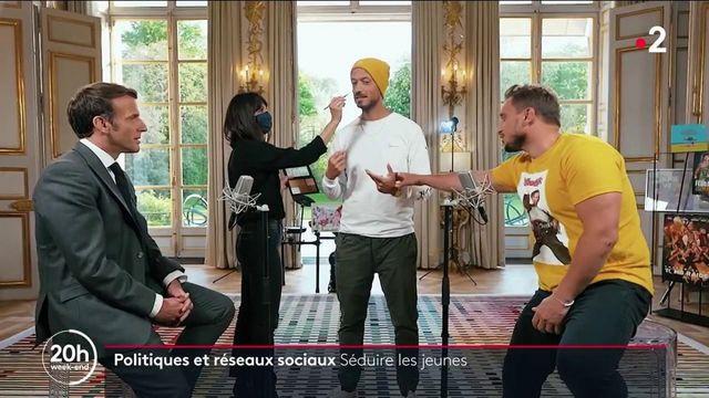Emmanuel Macron : son rendez-vous avec McFly et Carlito visionné cinq millions de fois en 24 heures, le président drague les jeunes