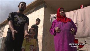 Qayyarah, Irak. (FRANCE 2 / FRANCETV INFO)