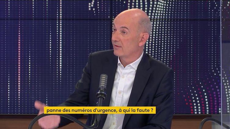 Roland Lescure, porte-parole de La République en marche, député des Français de l'étranger et président de la commission des Affaires économiques à l'Assemblée nationale, le 6 juin 2021 sur franceinfo. (FRANCEINFO / RADIO FRANCE)