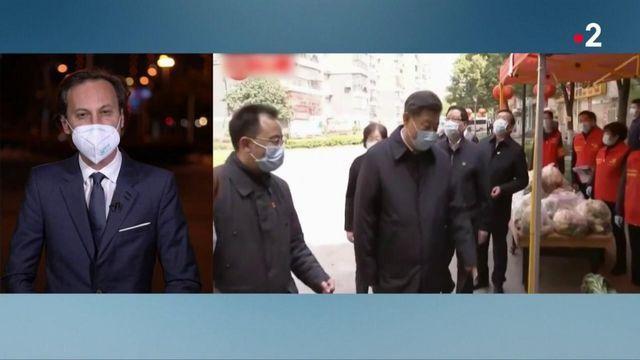Chine : Xi Jinping en visite à Wuhan pour marquer la baisse de l'épidémie