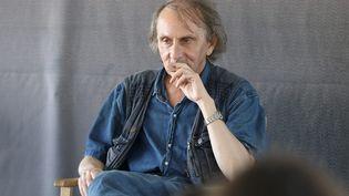 L'écrivain Michel Houellebecq à la Rochelle, le 13 juillet 2019 (GUILLAUME GEORGES / MAXPPP)