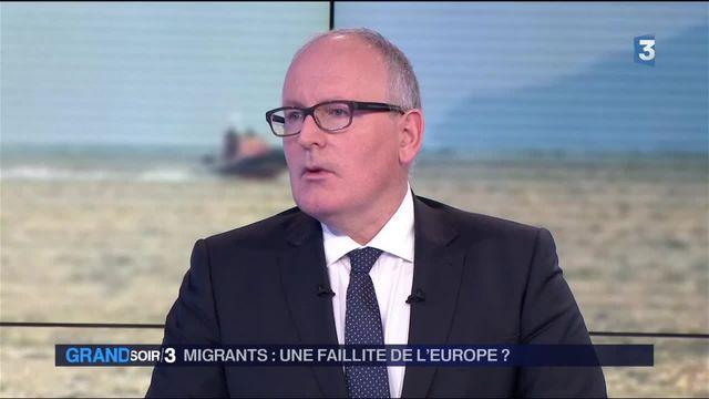 """Migrants : Frans Timmerman appelle à """"aligner les politiques d'asile de tous les Etats membres"""" de l'UE"""