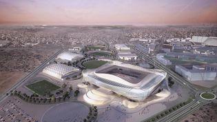 Une vue de Doha, la capitale du Qatar qui organise la Coupe du monde de football en 2022. (SUPREME COMMITTEE FOR DELIVERY / AFP)