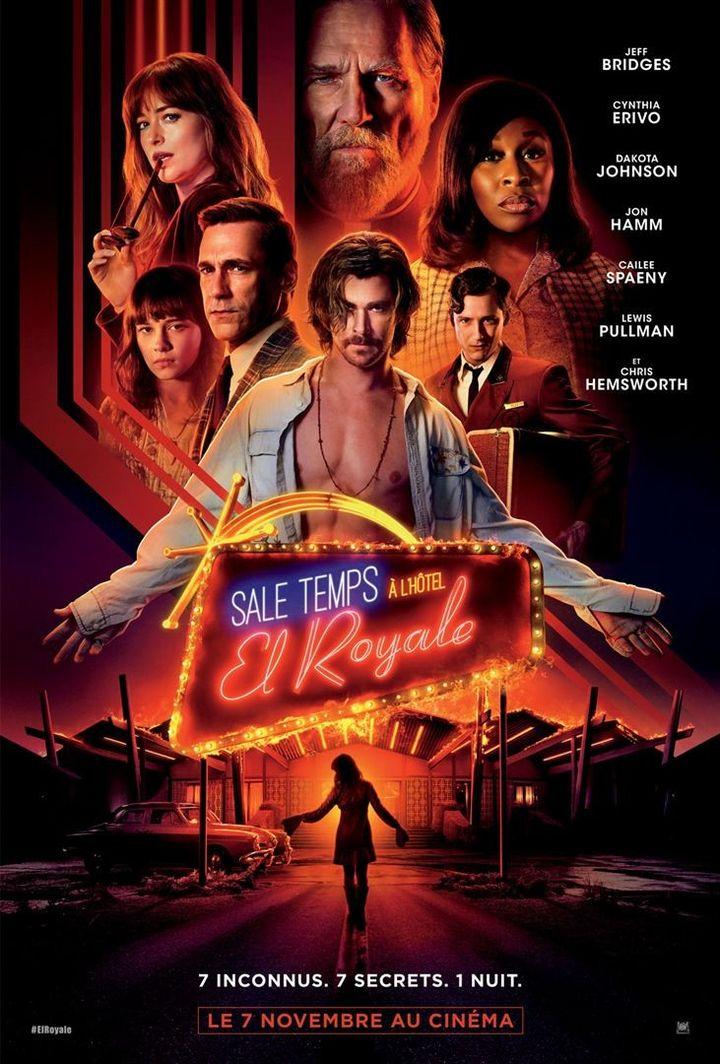 """Affiche officielle de """"Sale temps à l'hôtel El Royale""""  (Twentieth Century Fox)"""