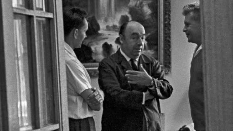 Pablo Neruda à Moscou en 1962  (YURYI ABRAMOCHKIN / RIA NOVOSTI)