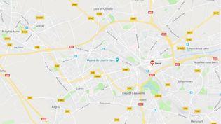Lens (CAPTURE D'ECRAN GOOGLE MAPS)