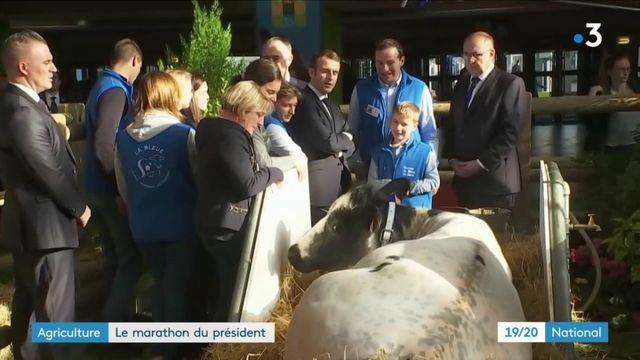 Salon de l'agriculture 2019 : retour sur la visite du président Emmanuel Macron