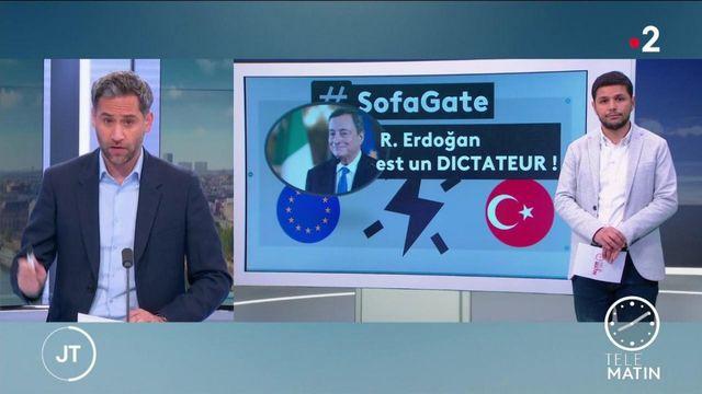 Affaire protocolaire contre Ursula von der Leyen: Mario Draghi qualifie Recep Tayyip Erdogan de «dictateur»