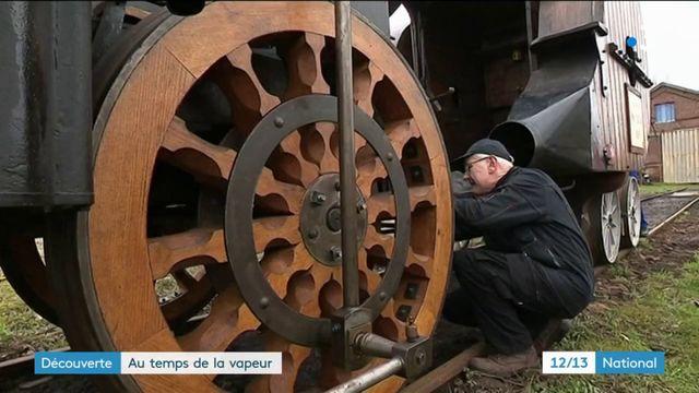 Découverte : au temps des trains à vapeur
