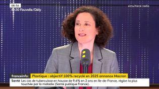 Emmanuelle Wargon, secrétaire d'Etat auprès du ministre de la Transition écologique et solidaire. (FRANCEINFO)