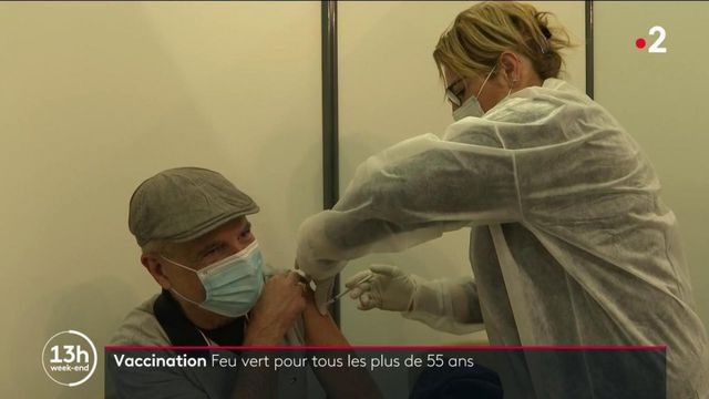 Covid-19 : nouveau tournant dans la campagne de vaccination avec un feu vert pour tous les plus de 55 ans