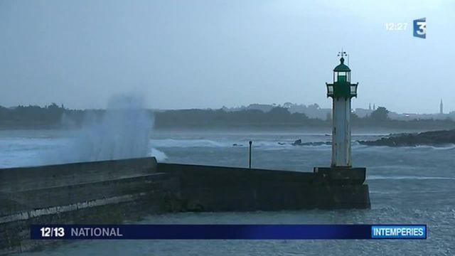 Tempète  : Littoral en alerte dans le Finistère
