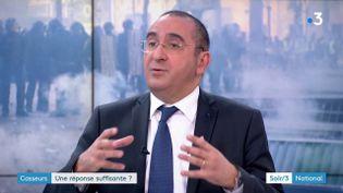 Le secrétaire d'État à l'Intérieur Laurent Nuñez (France 3)