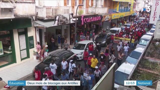 Éducation : deux mois de blocage aux Antilles