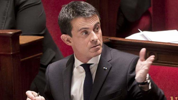 """(Le Premier ministre, Manuel Valls, a estimé que l'Etat avait un devoir de """"protection"""" vis à vis des musulmans de France © MaxPPP)"""