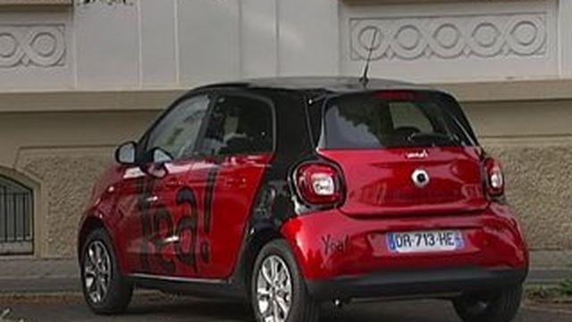 A Strasbourg, certains circulent avec des voitures partagées