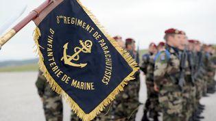 Les soldatsmorts en Centrafrique appartenaient au 8e RPIMA de Castres (Tarn) - archive du 20 mai 2008 (ERIC CABANIS / AFP)