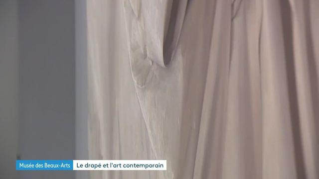 Expiosition Le Drapé à Lyon