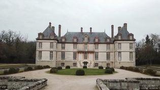Le châteaude Bourron, dans la commune deBourron-Marlotte. (CAPTURE ECRAN FRANCE 3)