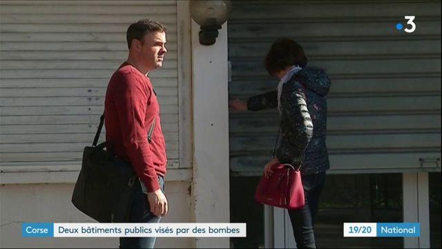 Corse : deux bâtiments publics visés par des bombes