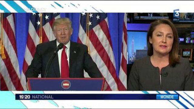 "Trump : ""Les États-Unis sont profondément divisés"""