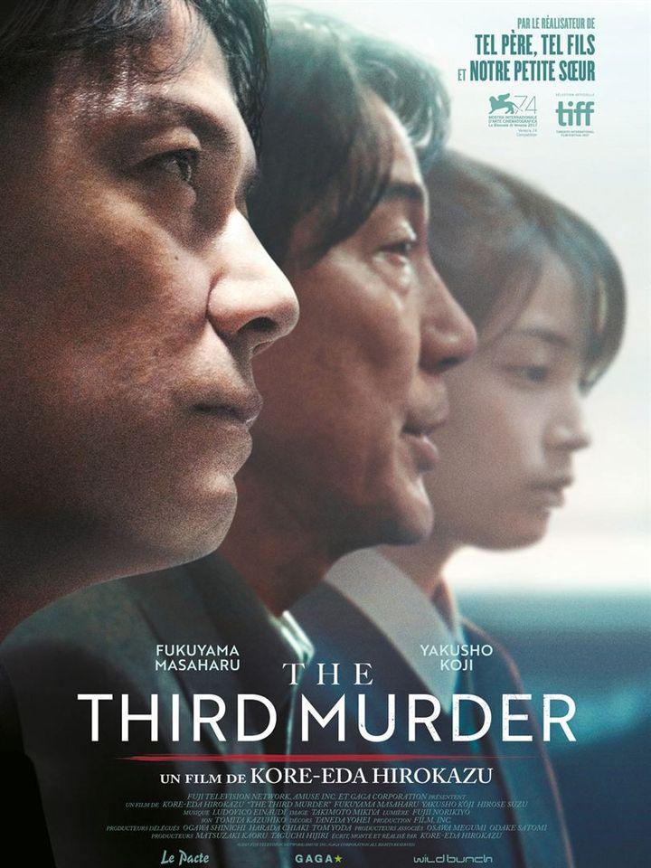 """""""The Third Murder"""" : l'affiche  (Le Pacte)"""