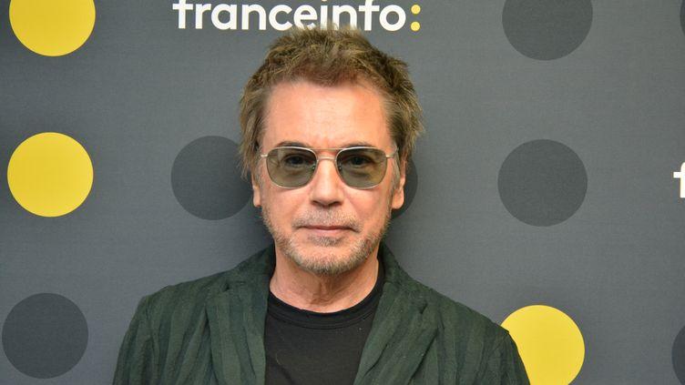 Jean-Michel Jarre en octobre 2019 à franceinfo. (JEAN-CHRISTOPHE BOURDILLAT / RADIO FRANCE)
