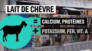 lait chevre (FRANCE 2)