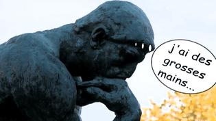 """""""Le Penseur"""" d'Auguste Rodin, une oeuvre énigmatique.  (France 2)"""