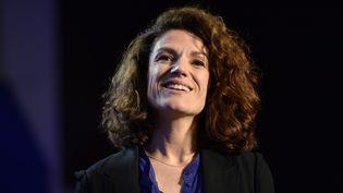 Chantal Jouanno, présidente dela Commission nationale du débat public. (MIGUEL MEDINA / AFP)