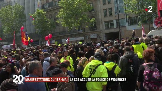 La CGT accuse la police de violences