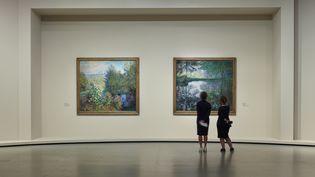 Vue d'installation de l'exposition La Collection Morozov. Icônes de l'art moderne, Fondation Louis Vuitton, Paris (MARC DOMAGE)