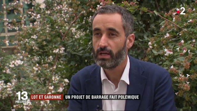 Lot-et-Garonne : un projet de barrage fait polémique