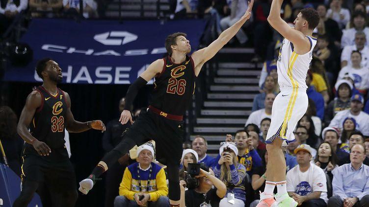 Klay Thompson et les Warriors s'offrent Cleveland pour Noël (TONY AVELAR/AP/SIPA / AP)