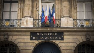 Le ministère de la Justice à Paris. (LIONEL BONAVENTURE / AFP)