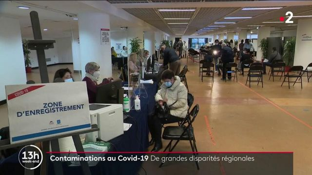 Covid-19 : des disparités régionales dans les contaminations