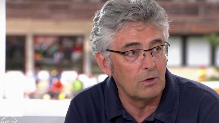 Le manager de Groupama-FDJ Marc Madiot