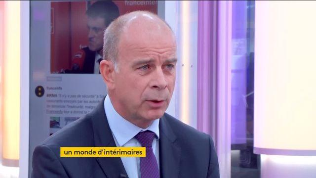 """Invité de Jean-Paul Chapel dans """":L'éco"""", lundi 11 septembre, Alain Roumilhac,le président de Manpower France, a évoqué la réforme du code du travail, l'intérim et les métiers de demain."""
